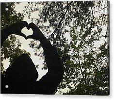 For Love Acrylic Print by Kiara Reynolds