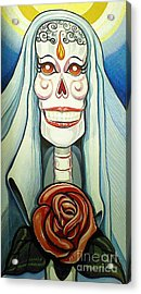 For Mom Acrylic Print by Carlos Ruiz