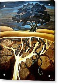 For Now She Sleeps Acrylic Print by Patricia Howitt