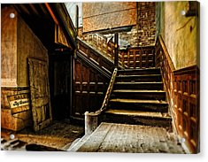 For Sale By Owner Acrylic Print by Brett Engle