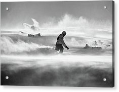For Strong Only... Acrylic Print by Peter Svoboda