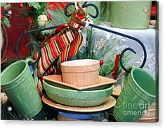 For The Kitchen Acrylic Print by Kathleen Struckle