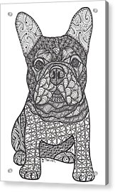 For The Love - French Bulldog Acrylic Print