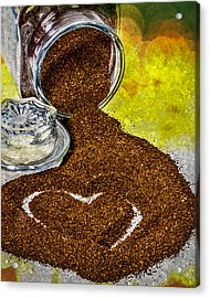 For The Love Of Coffee Acrylic Print