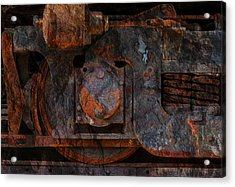 For The Love Of Rust 2 Acrylic Print by Jack Zulli