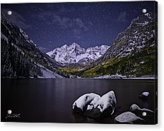 For Whom The Bells Toll Acrylic Print by Jon Blake