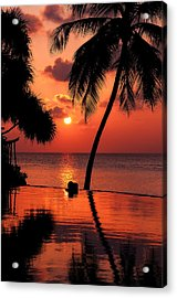 For You. Dream Coming True I. Maldives Acrylic Print by Jenny Rainbow