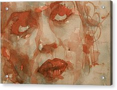 For You The Sun Will Be Shining Acrylic Print by Paul Lovering