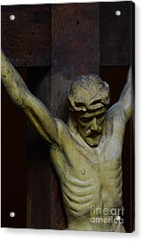 For Your Sins Acrylic Print by Paul Ward