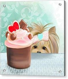 Forbidden Cupcake Acrylic Print