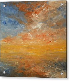 Acrylic Print featuring the painting Force Of Nature 2 by Jane  See