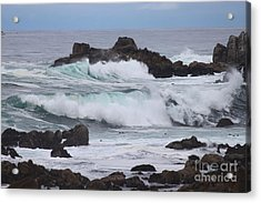 Force Of Nature Acrylic Print by Bev Conover