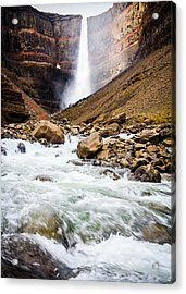 Force Of Nature Acrylic Print by Peta Thames