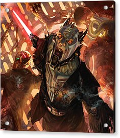 Force Scream Acrylic Print by Ryan Barger