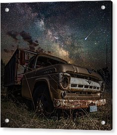 Ford Acrylic Print by Aaron J Groen