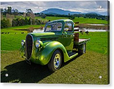 Ford Barrel Nose Pickup Acrylic Print