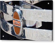 Ford Bumper  Acrylic Print by Cyrel Moore
