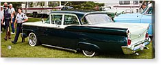Acrylic Print featuring the photograph Ford Classic Automobile by Mick Flynn