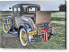 Acrylic Print featuring the photograph Ford Classic by Dyle   Warren
