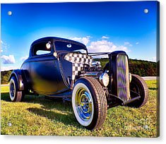 Ford Coupe Hot Rod Acrylic Print