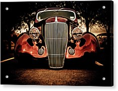 Ford Coupe Hotrod Acrylic Print by motography aka Phil Clark