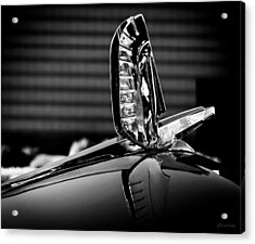 Ford - Cresline Sunliner Hood Ornament Acrylic Print