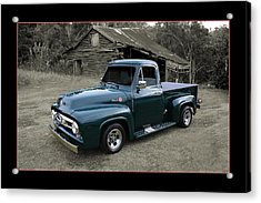 Acrylic Print featuring the photograph Ford F100 by Keith Hawley