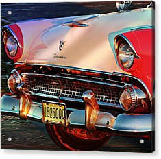 Acrylic Print featuring the photograph Ford Fairlane by Allen Beilschmidt