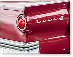 Acrylic Print featuring the photograph Ford Fairlane by Dawn Romine