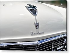 Ford Fairlane Grill Acrylic Print by Andres LaBrada