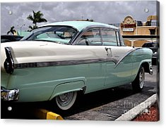 Ford Fairlane Profile Acrylic Print by Andres LaBrada