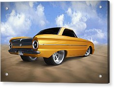 Ford Falcon Acrylic Print by Mike McGlothlen