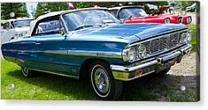 Acrylic Print featuring the photograph Ford Galaxie 520 Xl by Mick Flynn