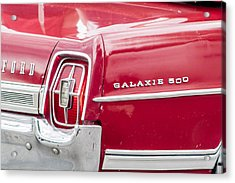 Acrylic Print featuring the photograph Ford Galaxie  by Dawn Romine