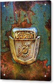 Ford Gear And Lightning Acrylic Print