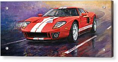 Ford Gt 2005 Acrylic Print