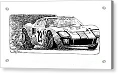 Ford Gt - 40 Acrylic Print