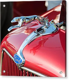 Ford Hood Acrylic Print by Guy Whiteley