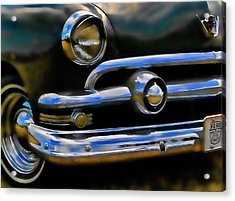 Acrylic Print featuring the photograph Ford Hot Rod by Ron Roberts