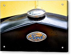 Ford Model A Badge Acrylic Print