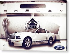 Ford Mustang Shelby Gt  Acrylic Print