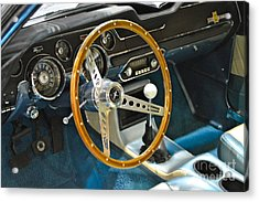 Ford Mustang Shelby Acrylic Print by Pamela Walrath
