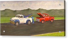Ford Owner's Nightmare Acrylic Print by Tom Rose