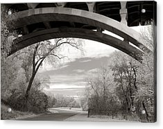 Ford Parkway Bridge Over West River Road In Minneapolis Acrylic Print