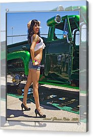 Ford Pick Up_a Acrylic Print