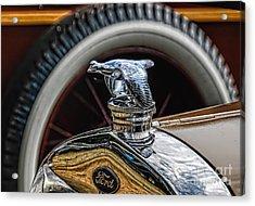 Ford Quail Radiator Cap Acrylic Print