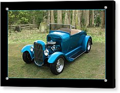 Acrylic Print featuring the photograph Ford Roadster by Keith Hawley