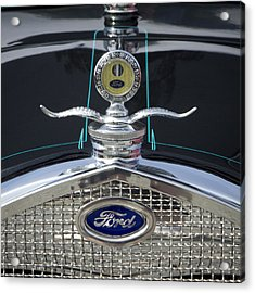 Ford Acrylic Print by Ron Roberts