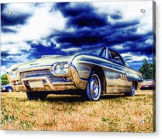 Ford Thunderbird Hdr Acrylic Print by Phil 'motography' Clark