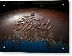Ford Tractor Logo Acrylic Print